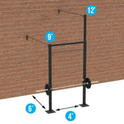 4' WALL-MOUNT INTERMIDIATE
