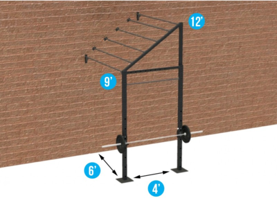 4' WALL-MOUNT ADVANCED