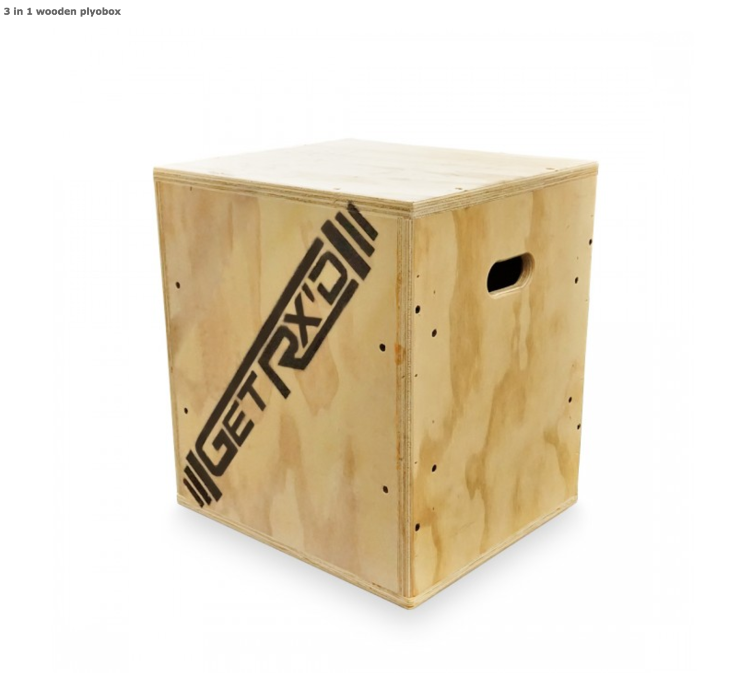 3-IN-1 WOOD PLYO BOXES