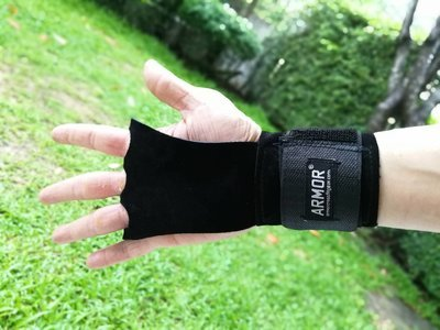 WOD LEATHER GRIP with WRIST SUPPORT