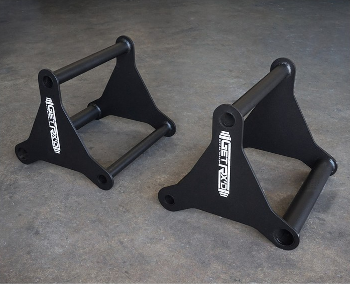 Steel 3-In-1 Parallettes