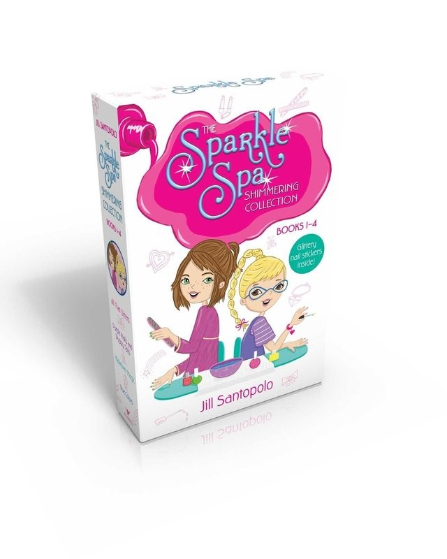 Sparkle Spa Shimmering Collection books 1-4