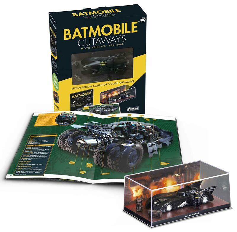 Batmobile Cutaways: Movie Vehicles 1989-2012