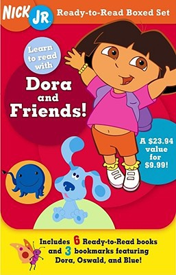 Ready-To-Read Boxed Set: Learn To Read With Dora