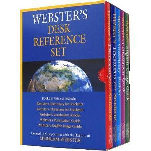 Webster's Desk Reference Set
