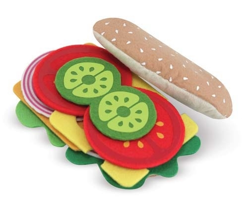 Felt Food Sandwich Set