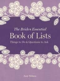 The Bride's Essential Book of Lists