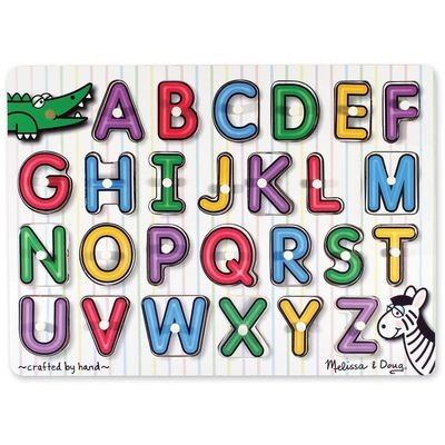 See-Inside Alphabet Peg