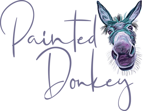 Painted Donkey